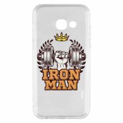 Чохол для Samsung A3 2017 Iron man and sports