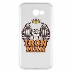 Чохол для Samsung A7 2017 Iron man and sports