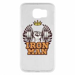 Чохол для Samsung S6 Iron man and sports
