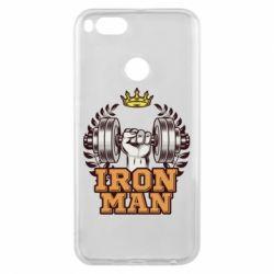 Чохол для Xiaomi Mi A1 Iron man and sports