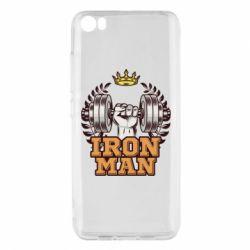Чохол для Xiaomi Mi5/Mi5 Pro Iron man and sports