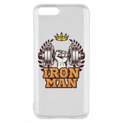 Чохол для Xiaomi Mi6 Iron man and sports