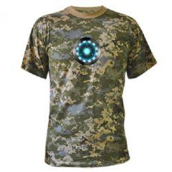 Камуфляжная футболка Iron Man Device - FatLine