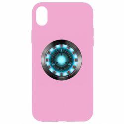 Чехол для iPhone XR Iron Man Device
