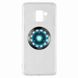 Чехол для Samsung A8+ 2018 Iron Man Device