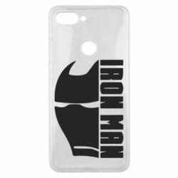 Чохол для Xiaomi Mi8 Lite Iron Man face and logo