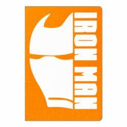 Блокнот А5 Iron Man face and logo