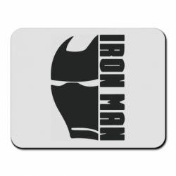 Килимок для миші Iron Man face and logo