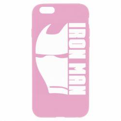 Чохол для iPhone 6/6S Iron Man face and logo
