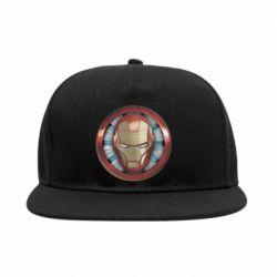 Снепбек Iron man helmet wood texture