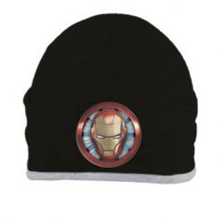 Шапка Iron man helmet wood texture