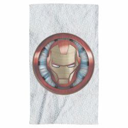 Рушник Iron man helmet wood texture
