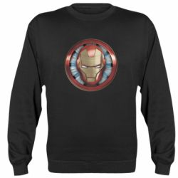 Реглан (світшот) Iron man helmet wood texture