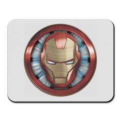 Килимок для миші Iron man helmet wood texture