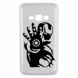 Чохол для Samsung J1 2016 Iron man ready for battle