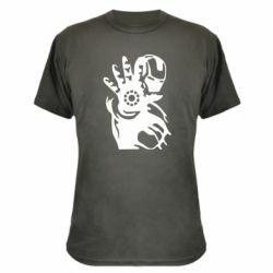Камуфляжна футболка Iron man ready for battle