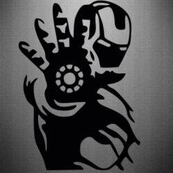 Наклейка Iron man ready for battle