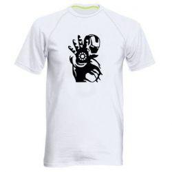 Чоловіча спортивна футболка Iron man ready for battle