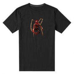 Чоловіча стрейчева футболка Iron man spider