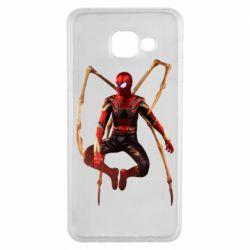 Чохол для Samsung A3 2016 Iron man spider