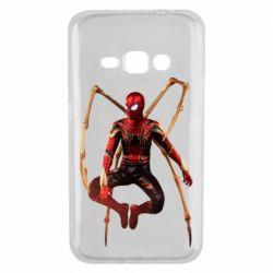 Чохол для Samsung J1 2016 Iron man spider
