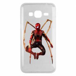 Чохол для Samsung J3 2016 Iron man spider