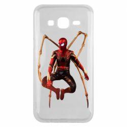 Чохол для Samsung J5 2015 Iron man spider