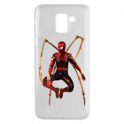 Чохол для Samsung J6 Iron man spider