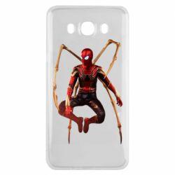 Чохол для Samsung J7 2016 Iron man spider