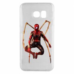 Чохол для Samsung S6 EDGE Iron man spider