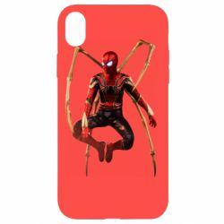 Чохол для iPhone XR Iron man spider