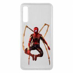 Чохол для Samsung A7 2018 Iron man spider
