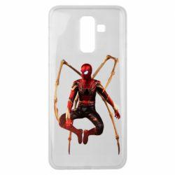 Чохол для Samsung J8 2018 Iron man spider