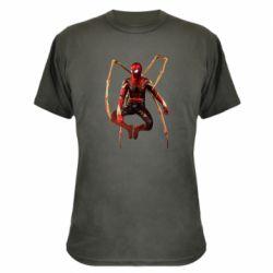 Камуфляжна футболка Iron man spider