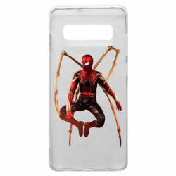 Чохол для Samsung S10+ Iron man spider