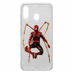 Чохол для Samsung A20 Iron man spider