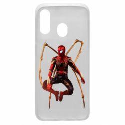 Чохол для Samsung A40 Iron man spider
