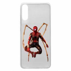 Чохол для Samsung A70 Iron man spider