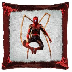 Подушка-хамелеон Iron man spider
