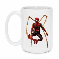 Кружка 420ml Iron man spider