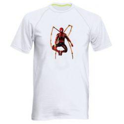 Чоловіча спортивна футболка Iron man spider
