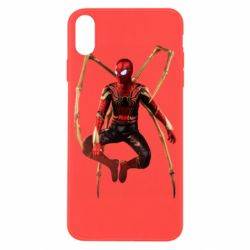 Чохол для iPhone X/Xs Iron man spider