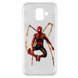 Чохол для Samsung A6 2018 Iron man spider