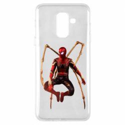 Чохол для Samsung A6+ 2018 Iron man spider