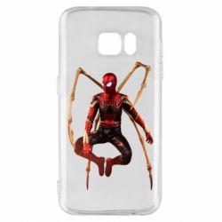 Чохол для Samsung S7 Iron man spider