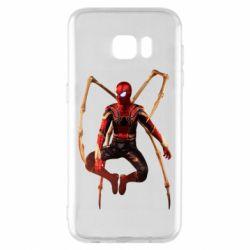 Чохол для Samsung S7 EDGE Iron man spider