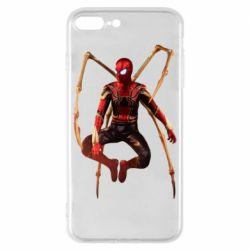 Чохол для iPhone 8 Plus Iron man spider