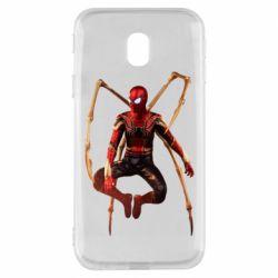 Чохол для Samsung J3 2017 Iron man spider