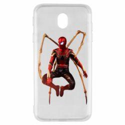 Чохол для Samsung J7 2017 Iron man spider