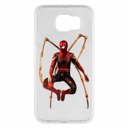 Чохол для Samsung S6 Iron man spider